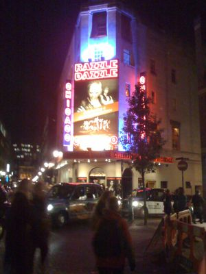 Chicago at the Cambridge Theatre