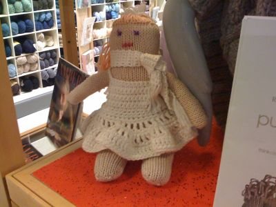 John Lewis knitted doll