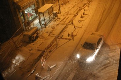clerkenwell snow