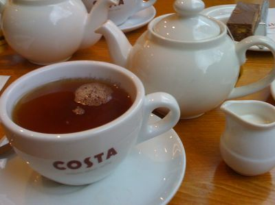 costa tea one