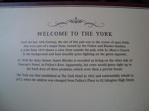 york story