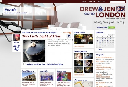 website feature daylight
