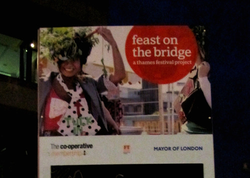 feast on the bridge